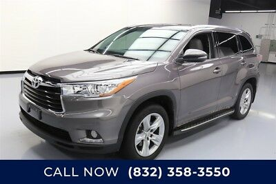 Toyota Highlander Limited Texas Direct Auto 2015 Limited Used 3.5L V6 24V Automatic FWD SUV Premium