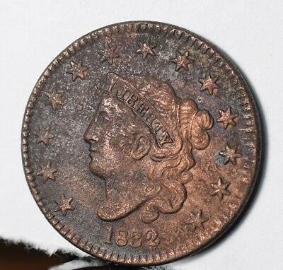 1832 Coronet Head Large Cent