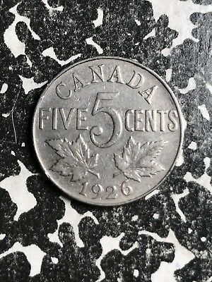 1926 Canada 5 Cents Lot#X6760