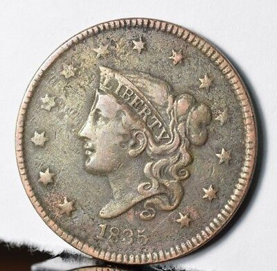 1835 Coronet Head Large Cent