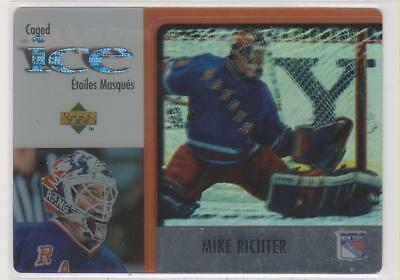 97-98  UD McDONALDS   MIKE RICHTER   CAGED ICE #McD29