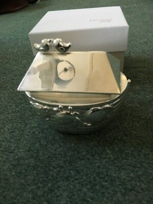 John Lewis Baby Noahs Ark Silver Plated Money Bank