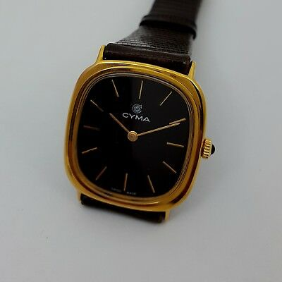 Vintage  Cyma Men's Watch. New old stock