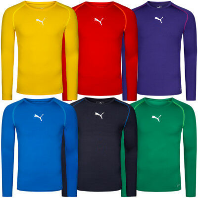 PUMA TB Herren Langarm Training Shirt Longsleeve Funktionsshirt 654612 Baselayer
