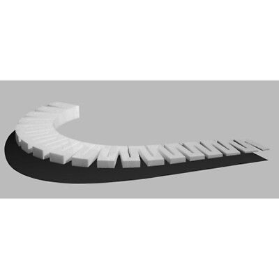 """Woodland Scenics ST1412 2% Incline Starters (8) Foam, Up 1/2 """" Smooth Transition"""