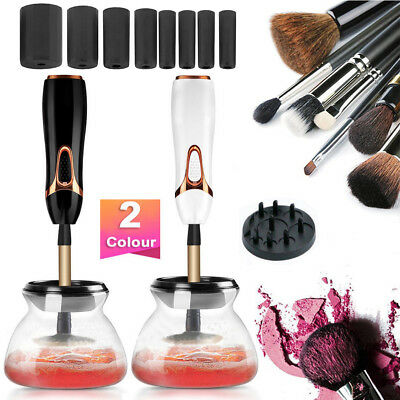 2018 Electric Beauty Cosmetic Brush Makeup Brushes Cleaner Remover Washing Tools