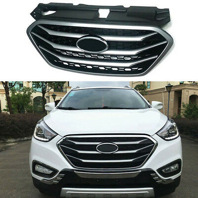 Chrome Radiator Front Grille Hood Grill for Hyundai 2010-2015 Tucson ix35