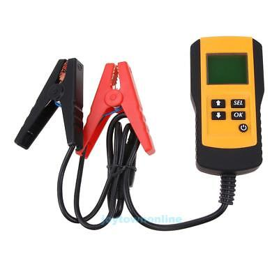 12V Car Vehicle Lead-acid Load Battery Tester Analyzer Digital LCD Display Tool