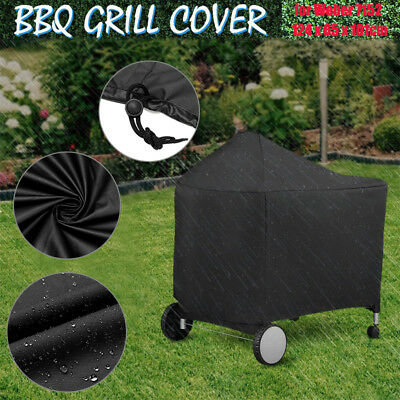 BBQ Barbeque Protective Grill Cover for Weber 7152 Performer Charcoal Grills