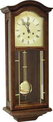 AMS 2651/1 - Wall Clock - Walnut - Pendulum Clock - Regulator Clock - New