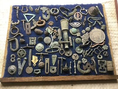 Large Lot Of Detecting Found Artefacts