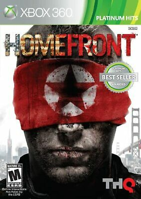 Homefront For Xbox 360 Shooter Game Only 1E