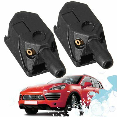 Universal Car Arm Windscreen Washer Jet Wiper Blade Spray Nozzle Left Right Rear