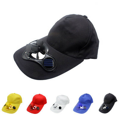 Such Cooling Solar Summer Sun Hiking With A2 Fan Sport Cap Baseball Hat Powered