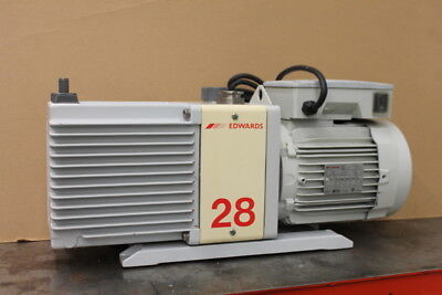 Vacuum pump, two stage, 19 CFM, 220V, E2M28, Edwards TESTED