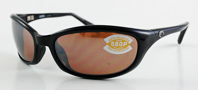 87abbb720f416 Costa Del Mar Harpoon Hr11Oscp 580 Plastic Blk Frame Copper Silver Mirror  Lenses