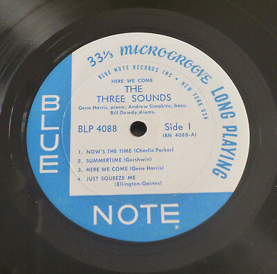 The Three Sounds - Here We Come (1961) LP (VG+) RARE Blue Note NY 1st RVG Ear