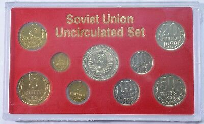1989 Uncirculated Last Coins of the Soviet Union - UNOPENED