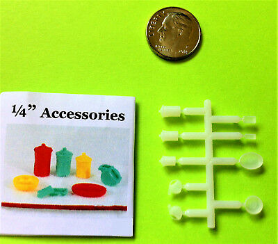 Dollhouse Miniature Quarter Scale Festiveware Accessories - BACK IN STOCK