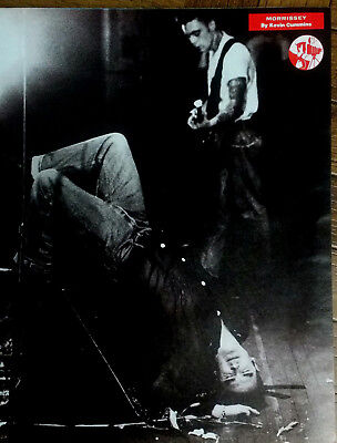 MORRISSEY / THE SMITHS - Magazine Picture Cutting / Poster 1991 - RARE / VINTAGE