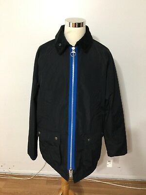 NWOT Men's BARBOUR X Wood Wood Kilde Jacket, XX-Large, Navy