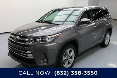 Toyota Highlander Limited Texas Direct Auto 2018 Limited Used 3.5L V6 24V Automatic FWD SUV Premium