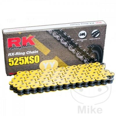 RK XSO 525 x 120 Yellow RX-Ring Drive Chain