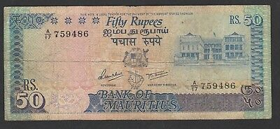 50 Rupees From Mauritius