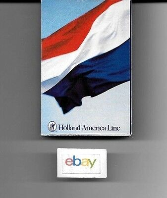 Holland America Lines Playing Cards Dutch/netherlands Flag Design