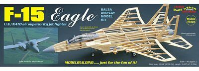 Guillow's F-15 EAGLE Balsa wood Build 'n Show kit#1401