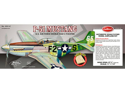 Guillow's North American P-51 MUSTANG WW2 Fighter #402