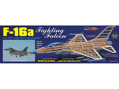 Guillow's F-16a FIGHTING FALCON Build 'n Show kit#1403
