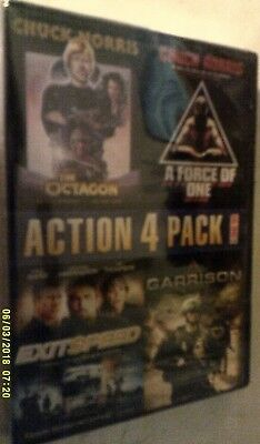 Action 4 Pack, Vol. 2 DVD OCTAGON A FORCE OF ONE EXITSPEED GARRISON New