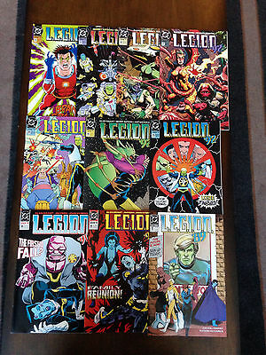 Legion Comic Lot 20 Issues Dc Comics Lobo Keith Giffen Alan Grant