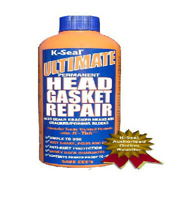 K-Seal Ultimate Permanent Head Gasket Repair Block Radiator Sealant 472ml