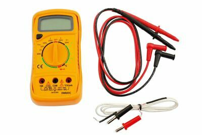 Laser Tools 5989 LCD Digital Multi Meter Circuit Checker With Temp Probe
