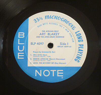 Art Blakey - The African Beat (1962) LP (VG++) ULTRA Rare Blue Note NY 1st Ear !