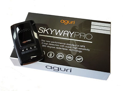 Aguri Skyway Pro GTX60 GPS Radar Laser Detector - only used a couple of times