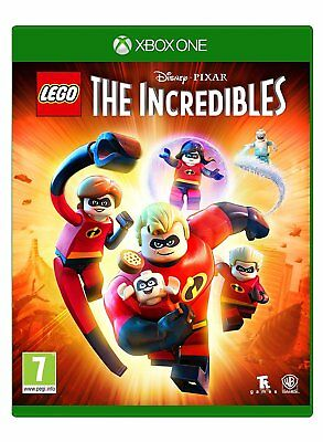 NEW & SEALED! Lego The Incredibles Microsoft XBox One Game