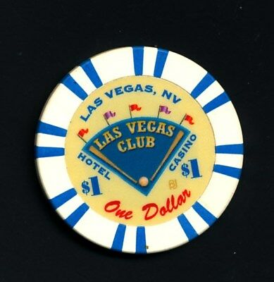Las Vegas Club  $1 Jeton Chip Las Vegas Nevada
