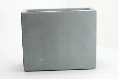 Kasa Modern Design Modern Concrete Planter Rectangular D Gray Cement Strong