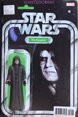 Star Wars #50 Christopher Action Figure Variant Cover Emperior Palpatine New 1
