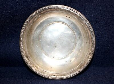 "Wallace Solid Sterling 110 Silver 5.5"" Vintage Bowl 