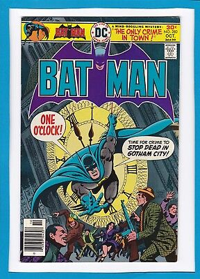 "Batman #280_October 1976_Very Fine_""the Only Crime In Town""_Bronze Age Dc!"