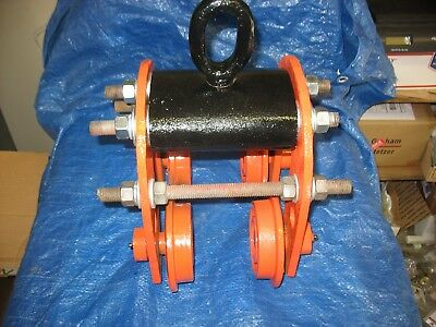 Vintage I BEAM TROLLEY Very Heavy Good Condition Louden?