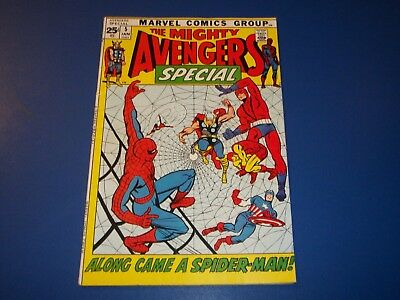 Avengers Special #5 Bronze Age Spider-man Wow Fine Beauty