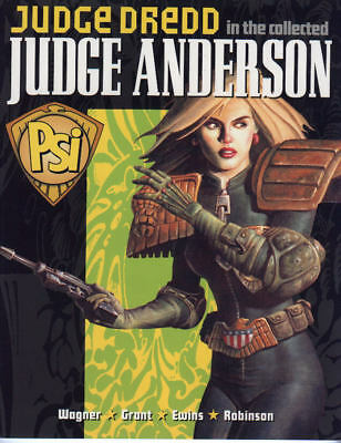 2000AD ft JUDGE DREDD - THE COLLECTED JUDGE ANDERSON - GRAPHIC NOVEL - VGC