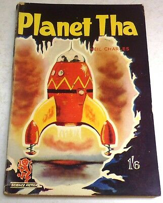 Neil Charles - Planet Tha - UK 1st paperback - February 1953 - Curtis Warren