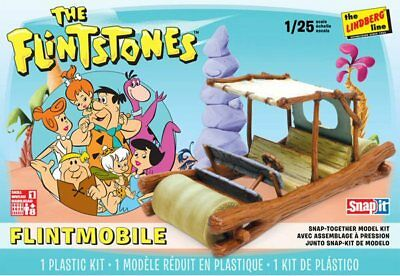 FLINTSTONES CAR Flintmobile 1/25 scale skill 1 Lindberg kit#604