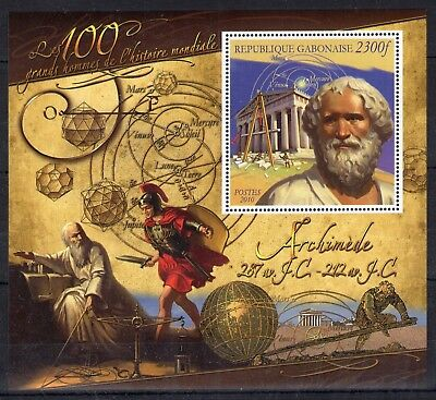 Gabon 2010 - Archimede. Greek mathematician and physicist - MNH** - F112